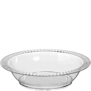 CLEAR Premium Plastic Soup Bowls 24ct