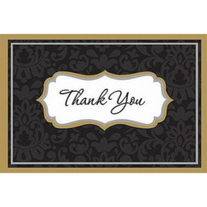 Elegance Thank You Notes 50ct