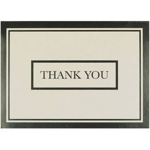 Simply Stated Thank You Notes 8ct