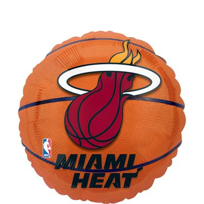 Miami Heat Balloon - Basketball
