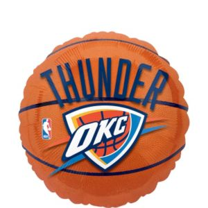 Oklahoma City Thunder Balloon - Basketball
