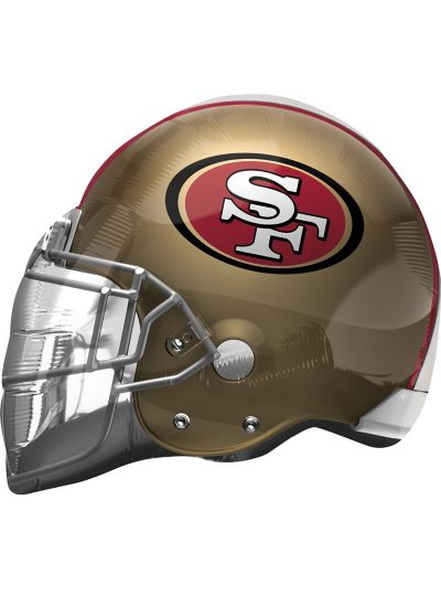 San Francisco 49ers Balloon - Helmet