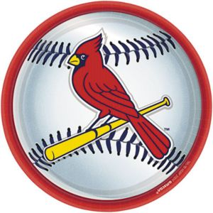 St. Louis Cardinals Lunch Plates 18ct