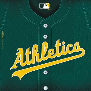 Oakland Athletics Lunch Napkins 36ct