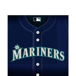 Seattle Mariners Lunch Napkins 36ct
