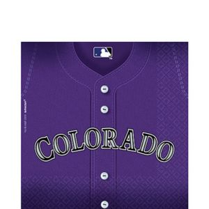 Colorado Rockies Lunch Napkins 36ct