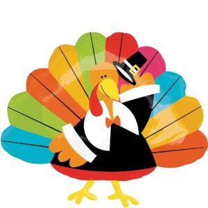 Thanksgiving Balloon - Fun Turkey