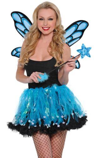 Blue Sparkle Fairy Accessory Kit
