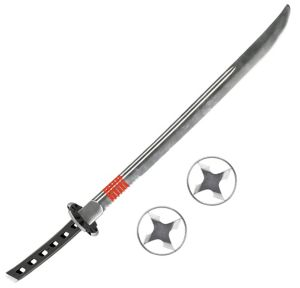 G.I. Joe Snake-Eyes Sword with Ninja Stars