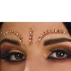 Bollywood Eyelash and Eyebrow Jewels
