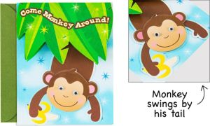 Premium Monkey Business Invitations 8ct