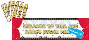 Hollywood Giant Personalized Sign Banner