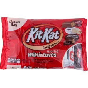 Assorted Chocolate Kit Kat Wafer Bar Miniatures 35ct