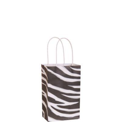 Zebra Print Mini Gift Bag
