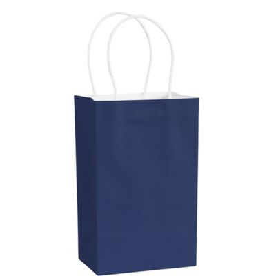 Royal Blue Kraft Bag