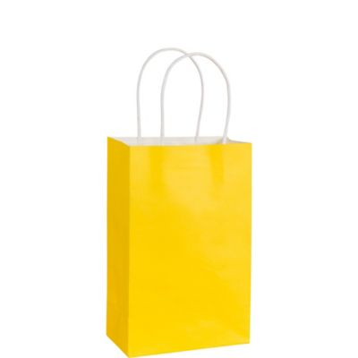 Yellow Kraft Bag