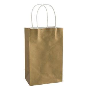 Medium Gold Kraft Gift Bag