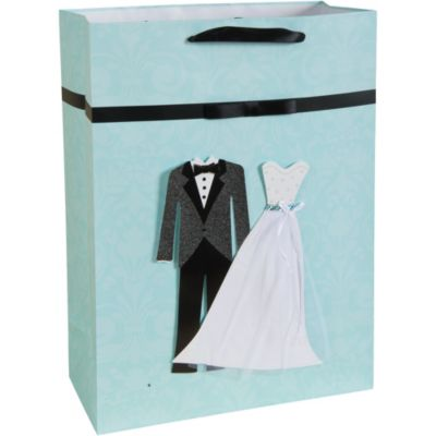 3D Bride and Groom Gift Bag