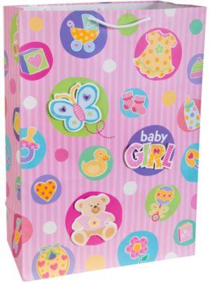 3D Baby Girl Gift Bag