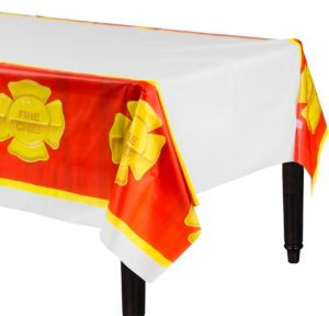 Firefighter Table Cover