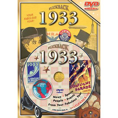 Year 1933 DVD