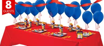 Mickey Mouse Basic Party Kit for 8 Guests