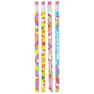 Hello Kitty Pencils 4ct