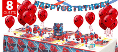 Spider-Man Party Supplies Super Party Kit