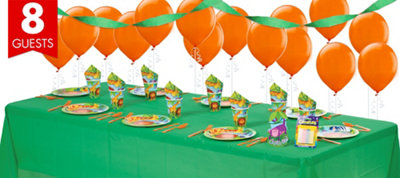Jungle Animals Party Supplies Basic Party Kit
