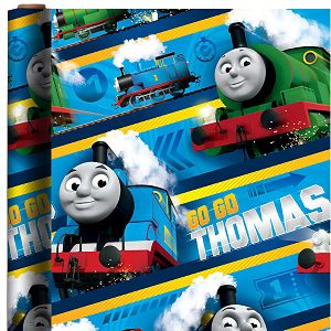 Thomas the Tank Engine Gift Wrap