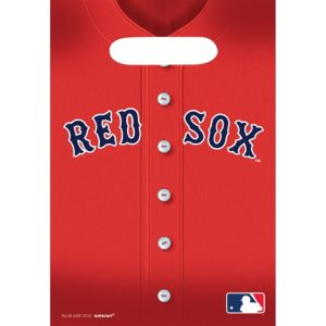 Boston Red Sox Favor Bags 8ct