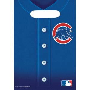 Chicago Cubs Favor Bags 8ct