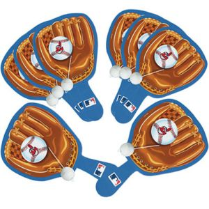 Cleveland Indians Paddle Balls 8ct