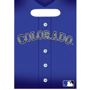 Colorado Rockies Favor Bags 8ct