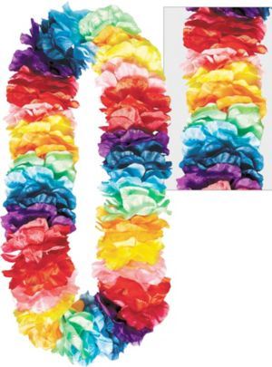 Rainbow Divine Flower Lei
