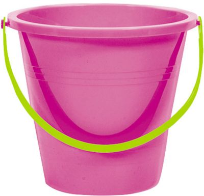 Large Bright Pink Pail