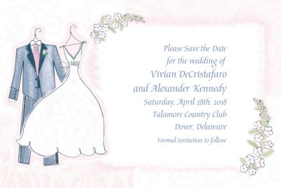 Custom Sweet Romance Wedding Invitations
