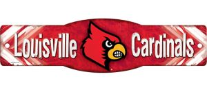 Louisville Cardinals Street Sign
