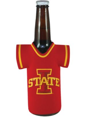 Iowa State Cyclones Jersey Bottle Coozie