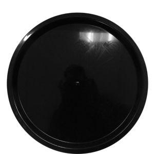 Black Plastic Platter