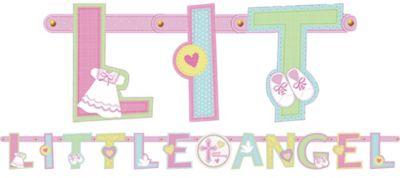 Pink Sweet Custom Letter Religious Banner
