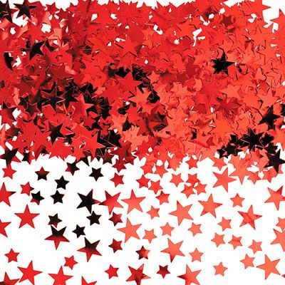 Red Star Confetti 5oz