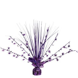 Purple Spray Centerpiece