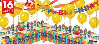 A Year To Celebrate Happy Birthday Deluxe Party Kit