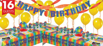 A Year To Celebrate 40th Birthday Deluxe Party Kit