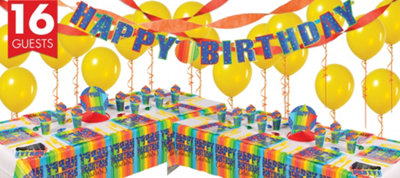 A Year To Celebrate 60th Birthday Deluxe Party Kit