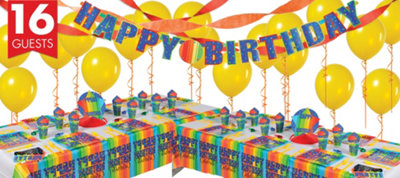 A Year To Celebrate 70th Birthday Deluxe Party Kit