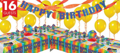 A Year To Celebrate 80th Birthday Deluxe Party Kit