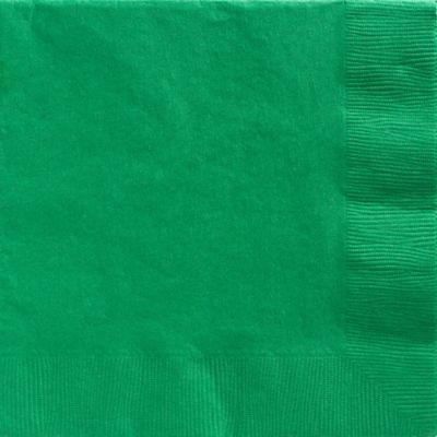 Festive Green Dinner Napkins 50ct