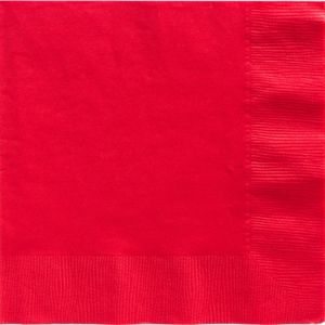 Red Dinner Napkins 50ct